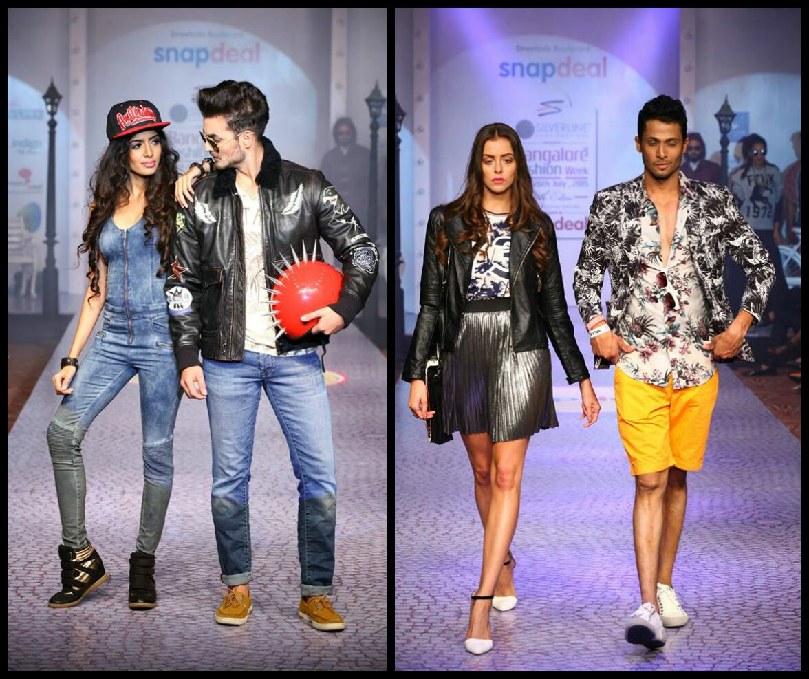 What The World Is Wearing Snapdeal At Bangalore Fashion Week 2015 Bare Berry Blush